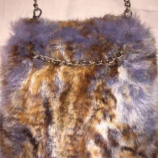 Real Fur Bag