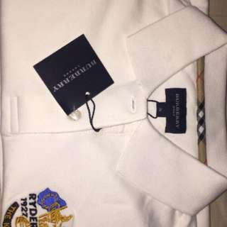 Women Burberry Polo Shirt
