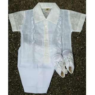 REPRICED! Baby's Barong Christening Set
