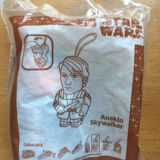 McDonald Star Wars Anakin Skywalker 玩具