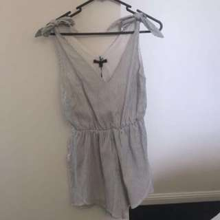 BNWT Striped Play suit