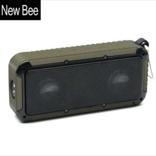 New Bee Waterproof Shockproof Bluetooth Speaker