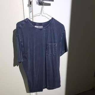 Stone Brushed Pocket T-Shirt
