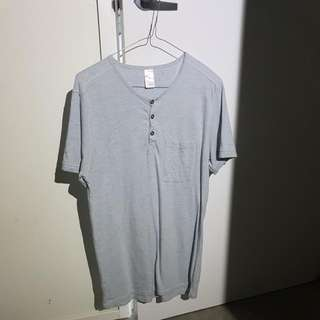 Blue Spotted Shirt
