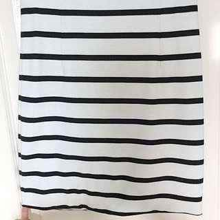 BARDOT Striped Skirt