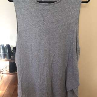 Silent Theory Grey Top