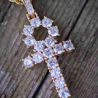 Ankh Necklace Gold