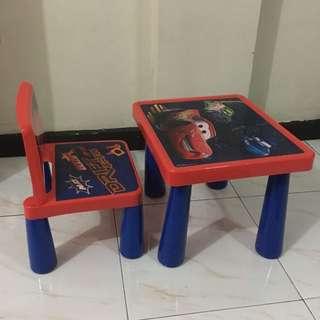Cars Table & Chair Set