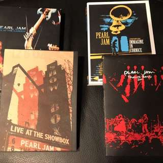 Pearl Jam DVDs