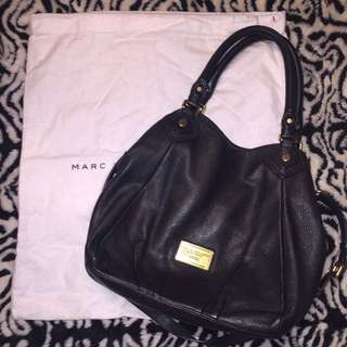 Marc By Marc Jacobs Medium Soft Leather Black Hadbag
