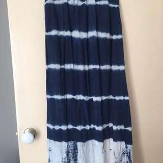 Rip curl Tie Die Maxi Skirt