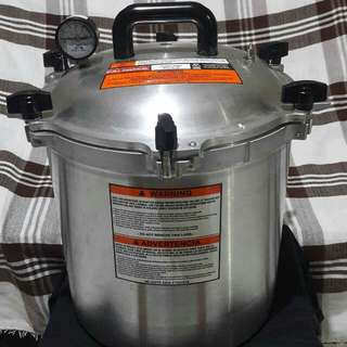 ALL AMERICAN PRESSURE COOKER/CANNING