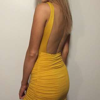 Mustard Alive Girl Dress