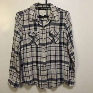 Forever 21 Checkered Top