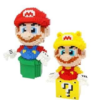 Super Mario Diamond Blocks