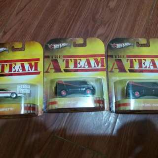 Hotwheels A team Set