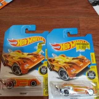 Hotwheels Regular Thunt Tooligan 2pcs