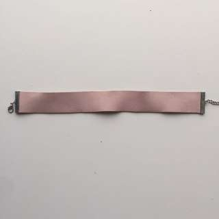 Adjustable Pink Thick Choker