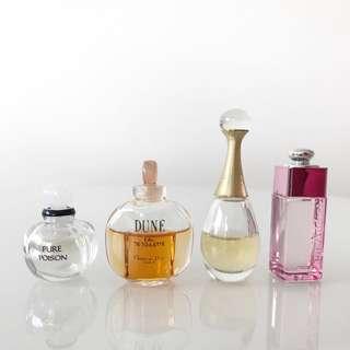 Christian Dior Mini Perfume
