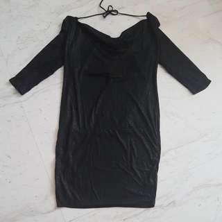 Lux LBD Backless Dress
