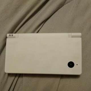 White Nintendo DSI With Wristlet Case