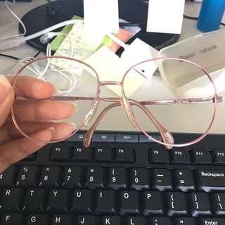 Rose gold Frame Glasses