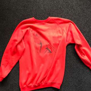 Red Vintage Sweater