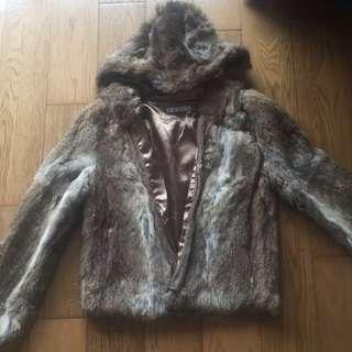 Izzue 100%rabbit Fur 外套