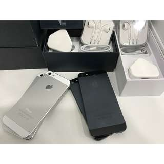 IPHONE 5 16GB ORIGINAL APPLE COMPLETE BOX FULL SET