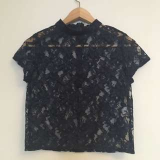 Stevie May Lace Top