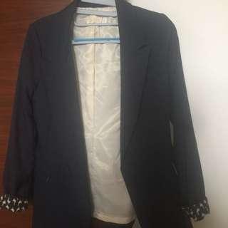 寶藍西裝外套
