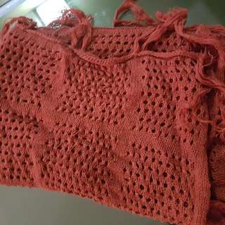 BN Knitted Type Poncho Top
