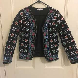 Embroided Jacket