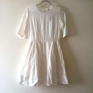 Gap White Eyelet Dress