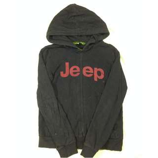 Zip Hoodie Jeep 1941 Hitam Size M Second Import Murah