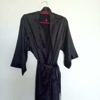 FREE Silk Black Robe