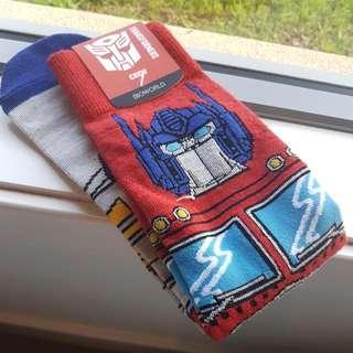 Transformers LootCrate Socks