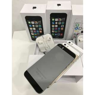 IPHONE 5S 32GB ORIGINAL APPLE COMPLETE BOX SET