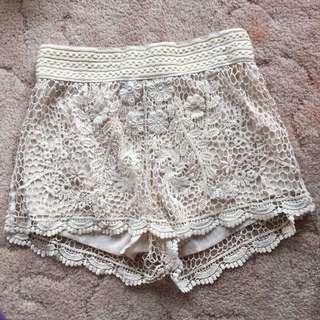 Temt Lace Shorts