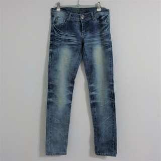 🚚 淺藍刷白 緊身牛仔褲 #我的旋轉衣櫃
