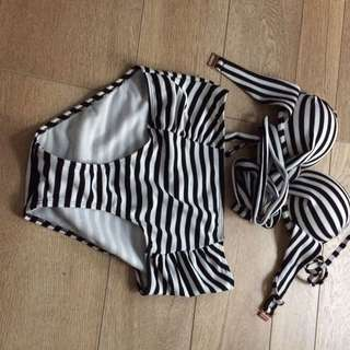 Black And White Swimmers