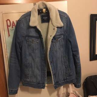 Denim Lined Jacket
