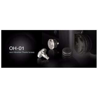 Lian Li OH-01 HDD Anti-Vibration Thumb Screw ( 20pcs / Packing ) (Silver)