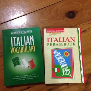 Italian Phrasebook + Vocabulary