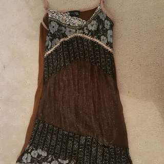 Lacy Hippie Dress