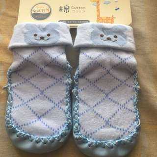 Japanese Soft Shoes Blue 3-9months