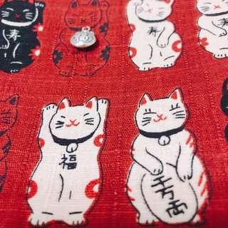 🚚 日本 全新棉布萬用包