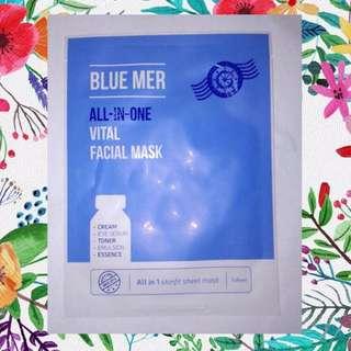 Blue Mer Masker Korea All In One