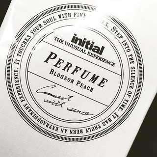 100%全新 & Real initial peach perfume 香水