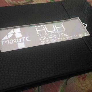 4Minute - HIT UR HEART Second Mini Album (Preloved)